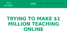 teachtoamillion.com